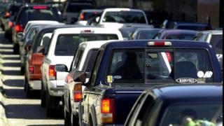 Traffic in San Francisco