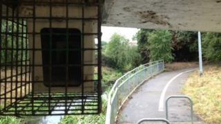 CCTV camera in Clingoe Hill