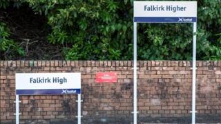Falkirk High signs