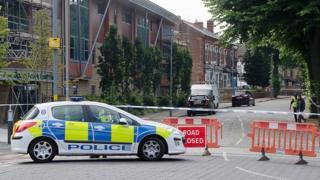 Murder scene near Farm Road, Sparkbrook