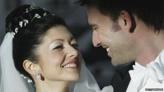 Princess Alexandra of Denmark weds