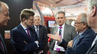 Greg Clark discusses space with European Space Agency chief Jean-Jacques Dordain