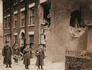 The 18th Battalion was stationed in Hartlepool when it was shelled on 16 December 1914