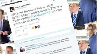 screen image of the tweet from Robert Halfon