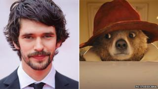 Ben Whishaw and Paddington
