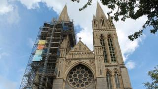 Truro Cathedral. Pic: Andrew Segal