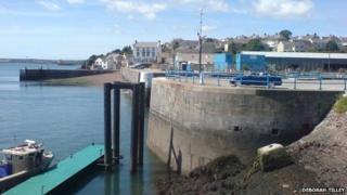 Milford Haven dock gates