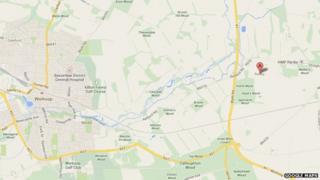 Ranby Map