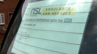 NSL sign in a car