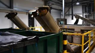Inside Guernsey's £11m sewage screening plant at Belle Greve