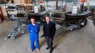 Shetland boat builder
