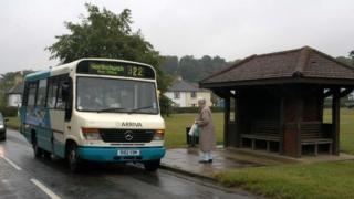 Village bus stop, Hertfordshire