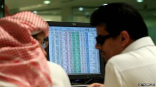 Saudi traders