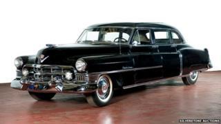 1951 Cadillac used by Juan and Eva Peron