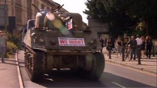 RPZ tank protest