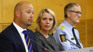 Norway security chiefs, 24 Jul 14