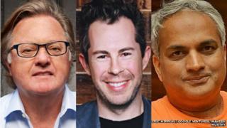 Eric Hippeau, Bill Maris and Mahesh Murthy
