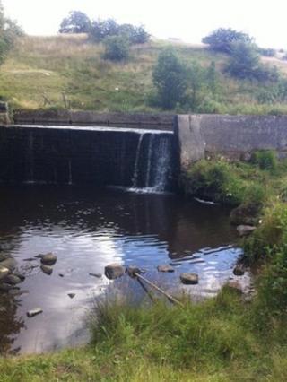 Tinker Bridge waterfall