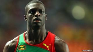 Grenada 400m athlete Kirani James