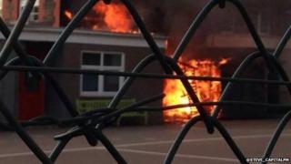Fire at Birchgrove School, Cardiff