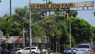 Job fair in US
