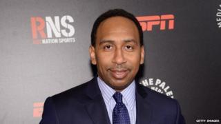ESPN on-air analyst Stephen A Smith