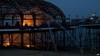 Eastbourne Pier fire