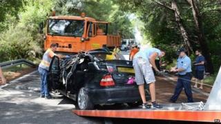 Croatia crash