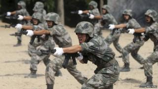 China has one of the largest armies in the world
