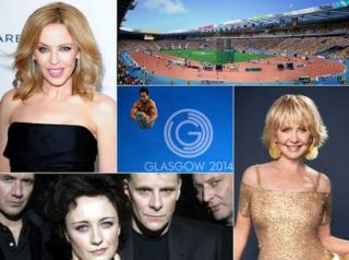 Kylie Minogue, Lulu and Deacon Blue