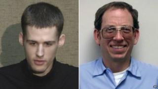 Matthew Miller, left, and Jeffrey Edward Fowle - 1 August 2014