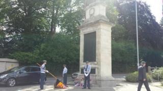 Shepton Mallet cenotaph