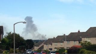 Smoke in Edinburgh