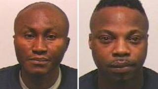 Hafeez Cole Oye-Dada and Moses Ologbenla