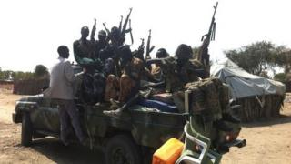 Rebels in South Sudan (January 2014)