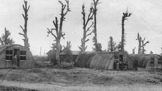 Homes built at Maurepas after World War One