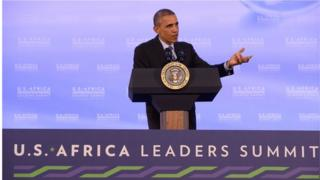 Media are suspicious of the US president's plans for cooperation with Africa