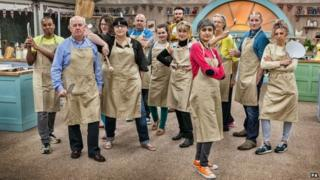 Contestants for series 5 of Great British Bake Off