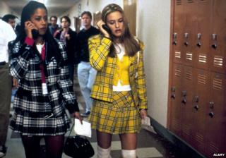 Scene from the film Clueless