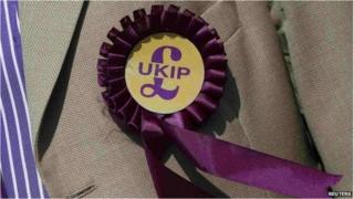 A UKIP rosette
