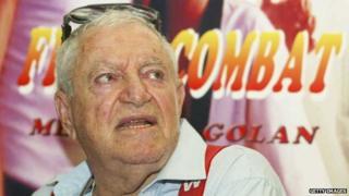 Menahem Golan in 2003