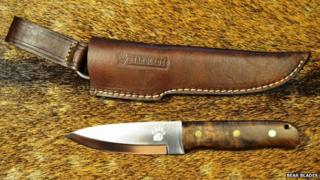 Bear Blades knife and cover