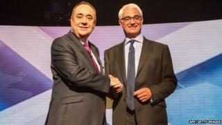 Salmond Darling debate
