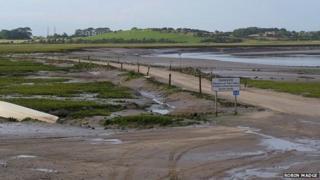 Sunderland Point causeway