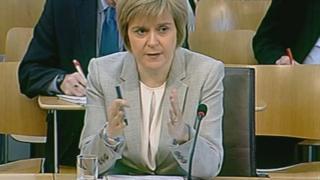 Deputy First Minister Nicola Sturgeon