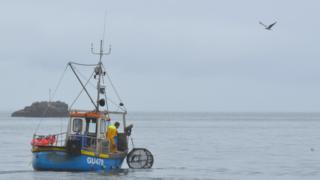 Guernsey fishing boat
