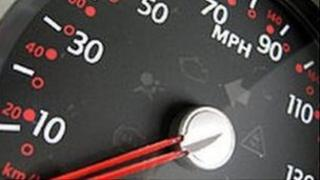 Dashboard speedometer - generic