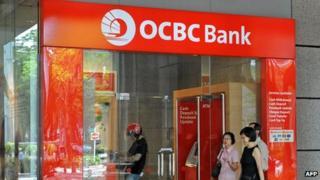 Oversea-Chinese Banking Corp (OCBC) branch