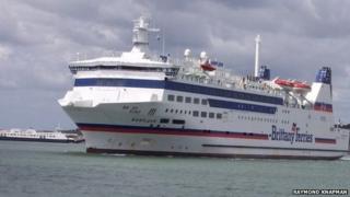 The Barfleur ferry