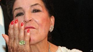 Opera singer licia Albanese